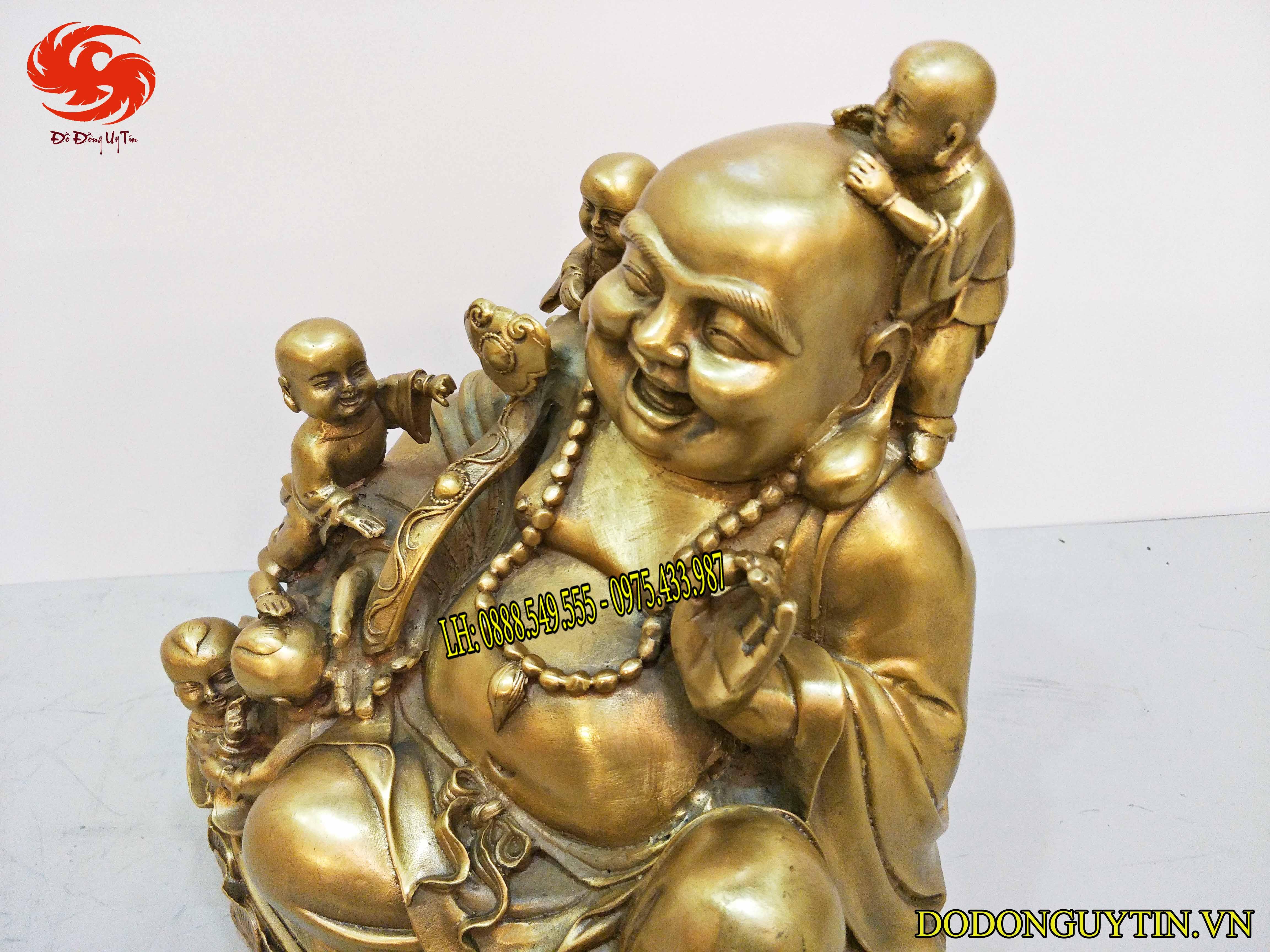 Tượng đồng Phật Di Lạc phong thủy