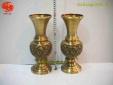 Lọ hoa đồng vàng - đồ đồng uy tín