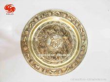 Mâm bồng đồng vàng tinh xảo, chất lượng - Đồ đồng Uy tín