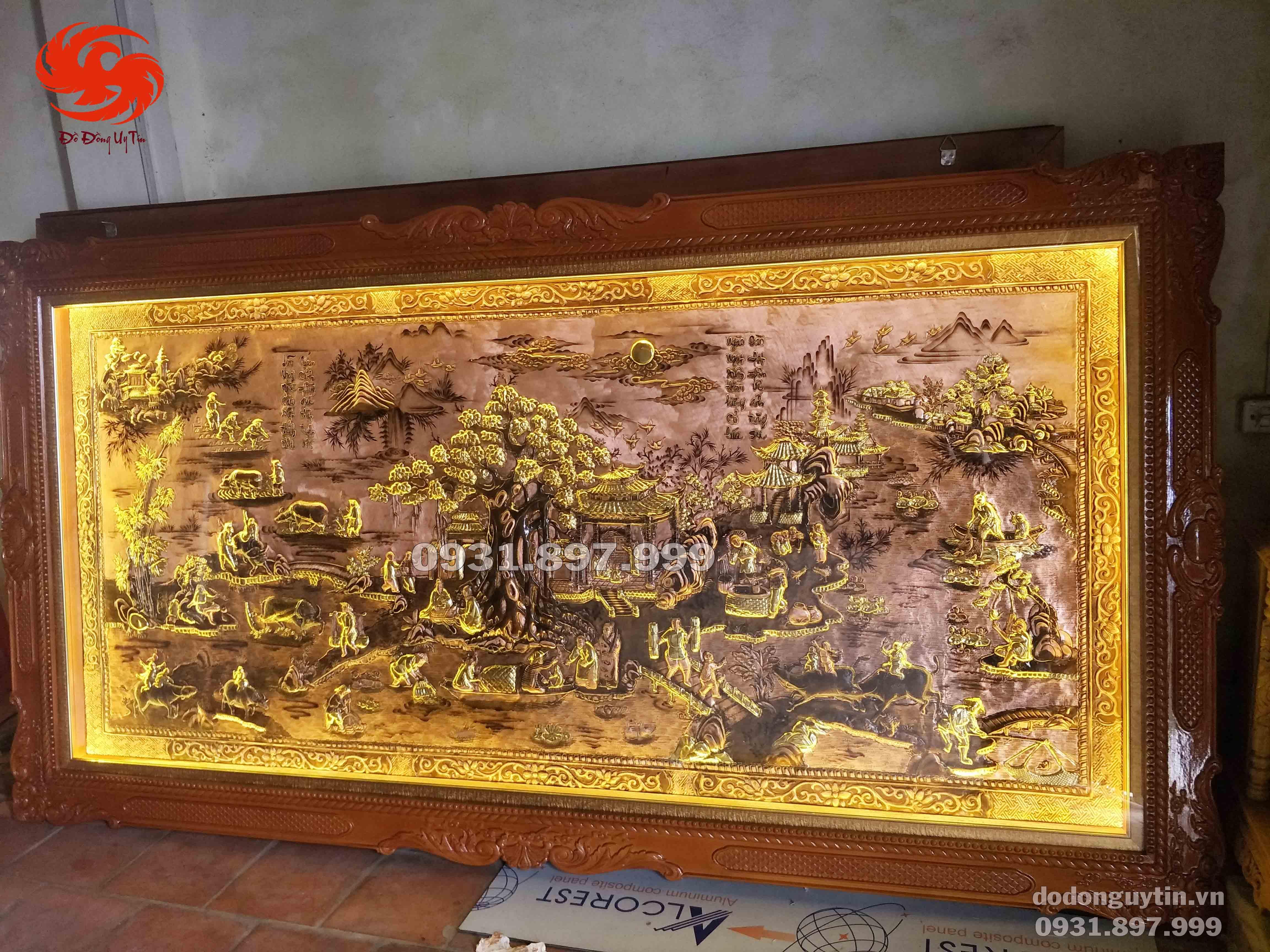 Bức tranh đồng quê hương Việt Nam